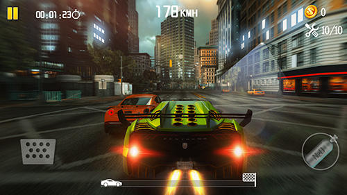 Screenshots von Speed traffic: Racing need für Android-Tablet, Smartphone.