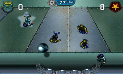 Download Speedball 2 Evolution Android free game.