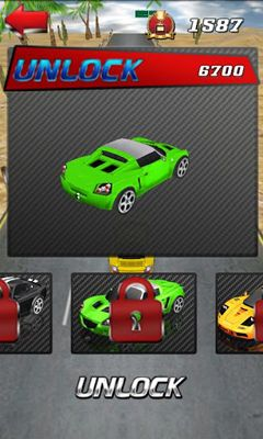 Screenshots do SpeedCarII - Perigoso para tablet e celular Android.