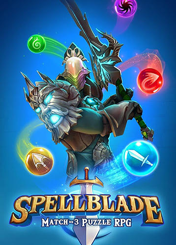 Spellblade: Match-3 puzzle RPG poster