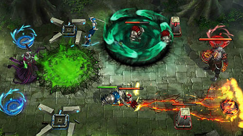 Screenshots von Spellsouls: Duel of legends für Android-Tablet, Smartphone.