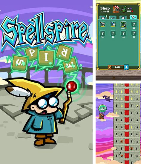 In addition to the game Little commander 2: Global war for Android phones and tablets, you can also download Spellspire for free.