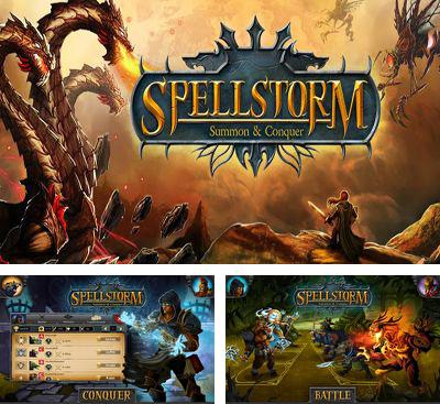 In addition to the game Atlantis Pearls of the Deep for Android phones and tablets, you can also download Spellstorm for free.