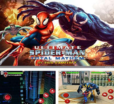 In addition to the game TMNT:  Rooftop run for Android phones and tablets, you can also download Spider-Man Total Mayhem HD for free.