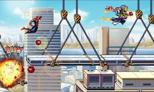 Screenshots do Spider-man: Ultimate power - Perigoso para tablet e celular Android.