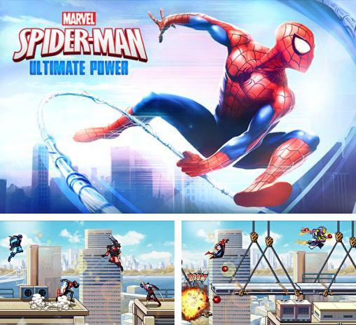In addition to the game TMNT:  Rooftop run for Android phones and tablets, you can also download Spider-man: Ultimate power for free.