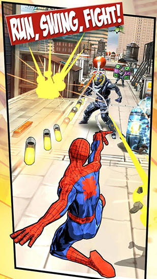 Jogue Spider-man unlimited para Android. Jogo Spider-man unlimited para download gratuito.