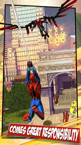 Screenshots do Spider-man unlimited - Perigoso para tablet e celular Android.