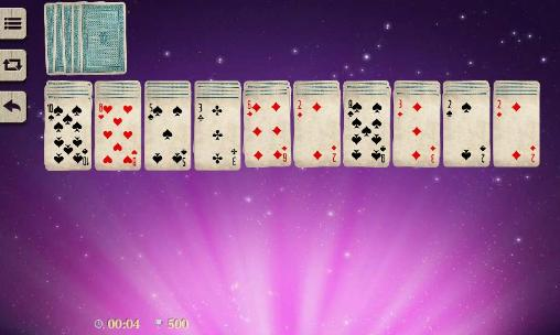 Screenshots von Spider solitaire by Elvista media solutions für Android-Tablet, Smartphone.