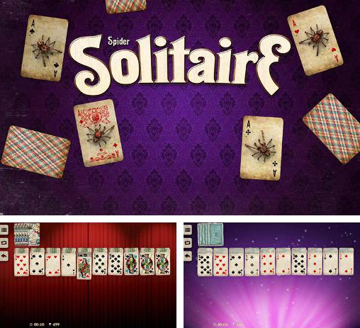 Кроме игры Spider solitaire скачайте бесплатно Spider solitaire by Elvista media solutions для Android телефона или планшета.