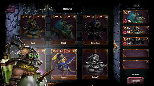 Screenshots von Spirit wars: Online turn-based RPG für Android-Tablet, Smartphone.