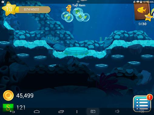Screenshots do Splash: Underwater sanctuary - Perigoso para tablet e celular Android.
