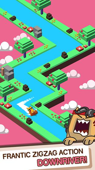 Splashy cats: Endless Zigzag screenshot 2