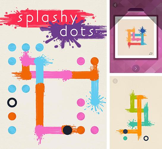 Splashy dots