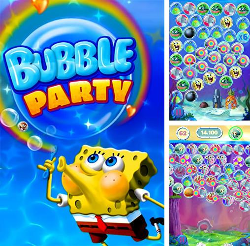 Sponge Bob bubble party