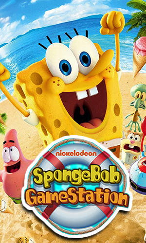 SpongeBob game station poster