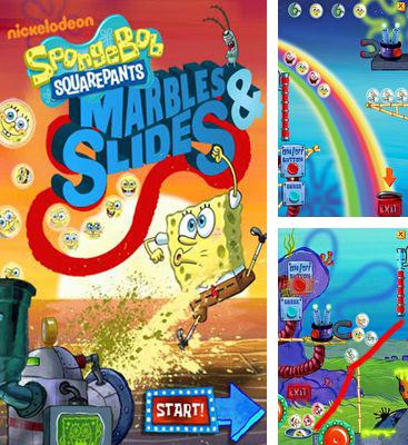 In addition to the game Rabbids Go Phone Again HD for Android phones and tablets, you can also download SpongeBob Marbles & Slides for free.