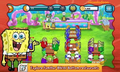 SpongeBob SquarePants: Diner dash screenshot 3