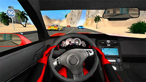 Sport car Corvette screenshot 2