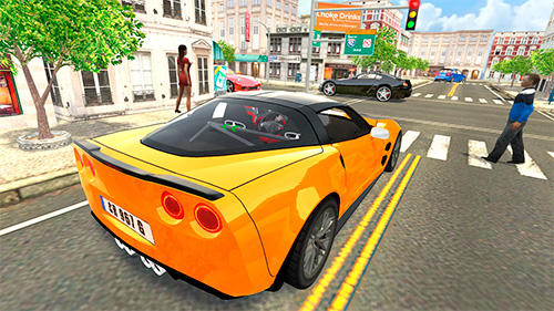 Sport car Corvette screenshot 3