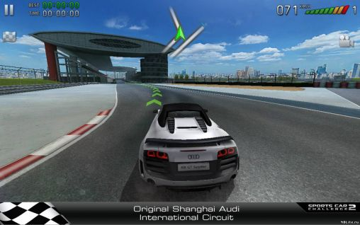 Download Sports car challenge 2 Android free game.