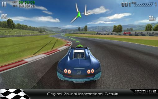 Screenshots of the Sports car challenge 2 for Android tablet, phone.