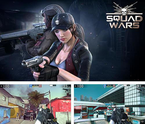 In addition to the game Combat battlefield: Black ops 3 for Android phones and tablets, you can also download Squad wars: Death division for free.