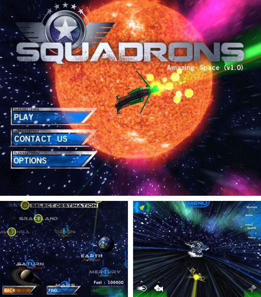 In addition to the game Fruited for Android phones and tablets, you can also download Squadrons for free.