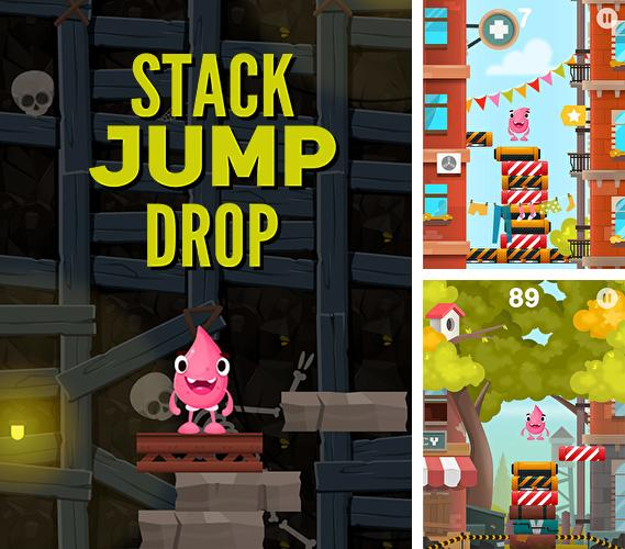 In addition to the game Stack jump for Android phones and tablets, you can also download Stack jump drop for free.