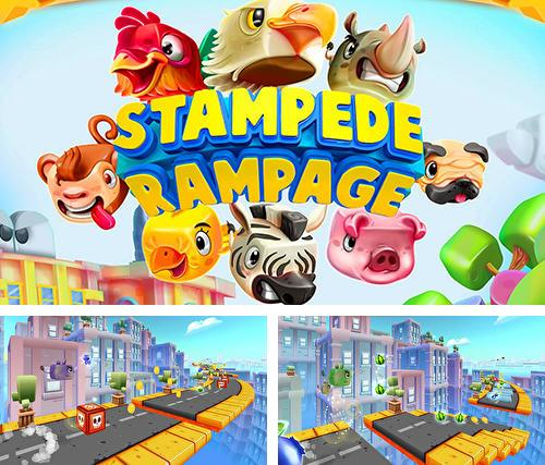 Stampede rampage: Escape the city