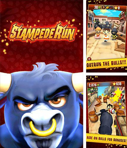 In addition to the game Circuit chaser for Android phones and tablets, you can also download Stampede run for free.