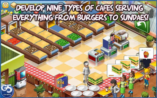 Jogue Stand O'Food: City para Android. Jogo Stand O'Food: City para download gratuito.