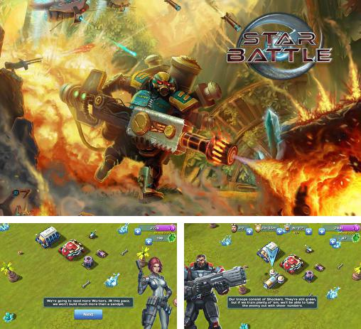 In addition to the game Girls of war for Android phones and tablets, you can also download Star battle: Space war for free.