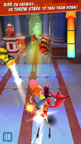 Star chasers: Rooftop runners screenshot 1