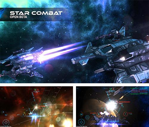 In addition to the game Galaxy on fire 3: Manticore for Android phones and tablets, you can also download Star combat for free.
