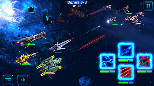 Screenshots von Star conflict heroes für Android-Tablet, Smartphone.