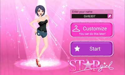 Download Star Girl Android free game.