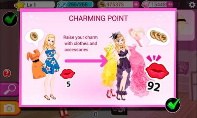 Screenshots von Star Girl für Android-Tablet, Smartphone.
