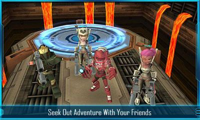 Screenshots von Star Legends The BlackStar Chronicles für Android-Tablet, Smartphone.