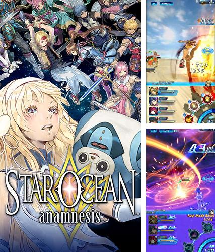 In addition to the game Bungo stray dogs: Tales of the lost for Android phones and tablets, you can also download Star ocean: Anamnesis for free.