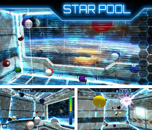 In addition to the game Cue box: The real 3D pool for Android phones and tablets, you can also download Star pool for free.