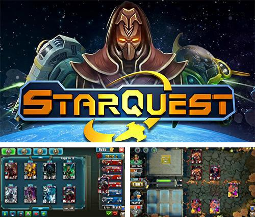 In addition to the game Blazing sword: SRPG tactics for Android phones and tablets, you can also download Star quest: TCG for free.