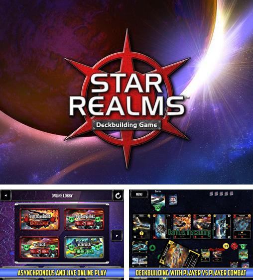 In addition to the game Ticket to Ride for Android phones and tablets, you can also download Star realms for free.