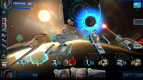 Kostenloses Android-Game Star Trek: Widersacher. Vollversion der Android-apk-App Hirschjäger: Die Star trek: Adversaries für Tablets und Telefone.