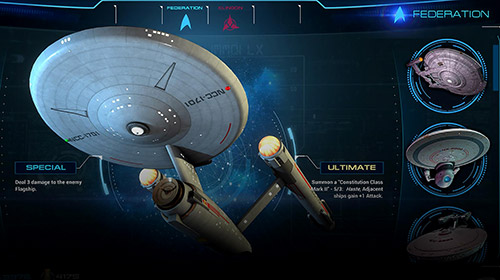 Screenshots von Star trek: Adversaries für Android-Tablet, Smartphone.