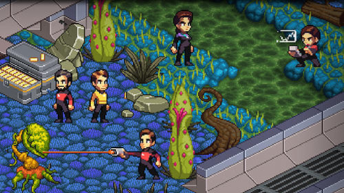 Screenshots do Star trek: Trexels 2 - Perigoso para tablet e celular Android.