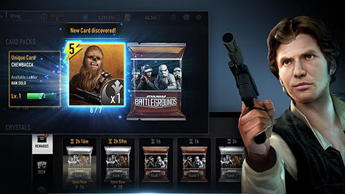 Star wars: Battlegrounds für Android spielen. Spiel Star Wars: Battlegrounds kostenloser Download.