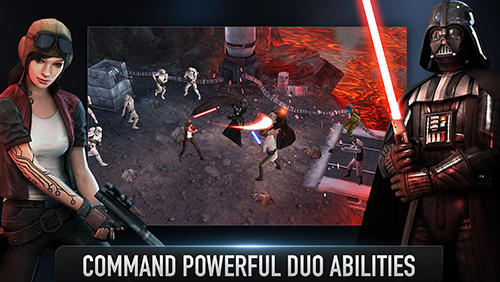 Screenshots von Star wars: Battlegrounds für Android-Tablet, Smartphone.
