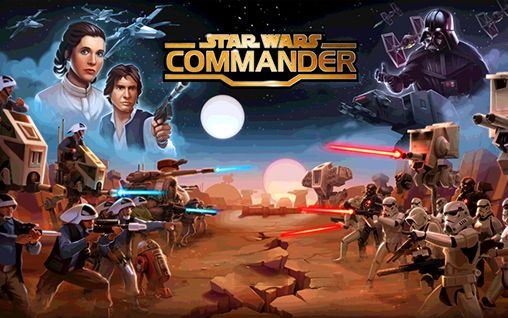 Star wars: Commander poster