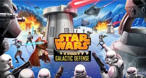 Star wars: Galactic defense poster